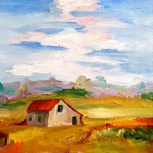 Art: Barn No. 3 by Artist Delilah Smith