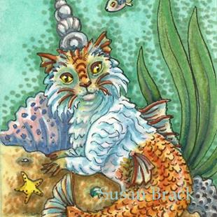 Art: KING CATFISH by Artist Susan Brack