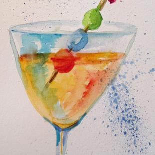 Art: Martini No. 3 by Artist Delilah Smith