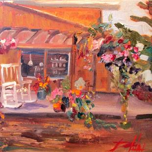 Art: Country Store by Artist Delilah Smith