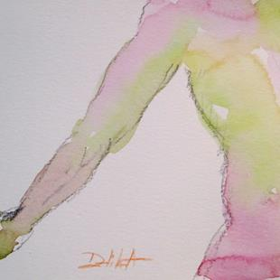 Art: Male Nude No. 3 by Artist Delilah Smith