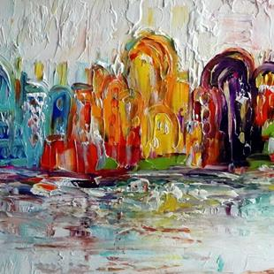 Art: JERUSALEM Falling in Love with the Old City by Artist LUIZA VIZOLI