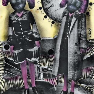 Art: The Sisters by Artist Vicky Helms