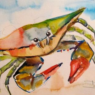 Art: Crab No. 29 by Artist Delilah Smith