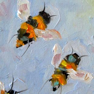 Art: Bees by Artist Delilah Smith