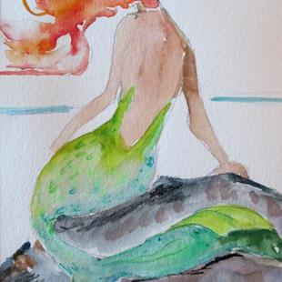 Art: Mermaid No. 20 by Artist Delilah Smith