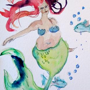 Art: Mermaid No. 22 by Artist Delilah Smith