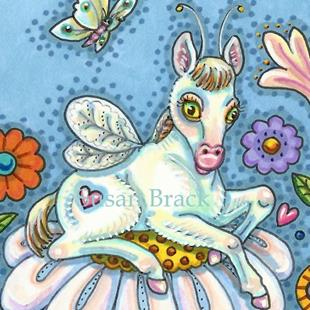Art: HORSEFLY FILLY by Artist Susan Brack