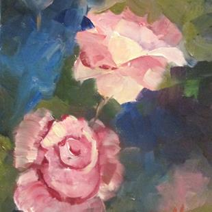 Art: Roses No. 2 by Artist Delilah Smith