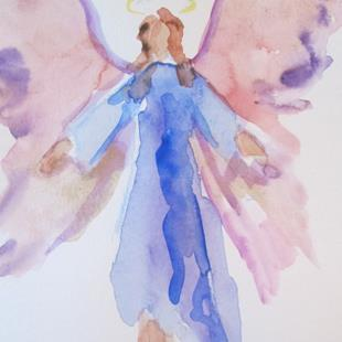 Art: Angel No. 44 by Artist Delilah Smith