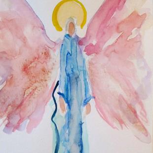Art: Angel No. 47 by Artist Delilah Smith