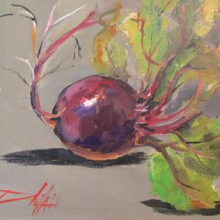 Art: Beet by Artist Delilah Smith