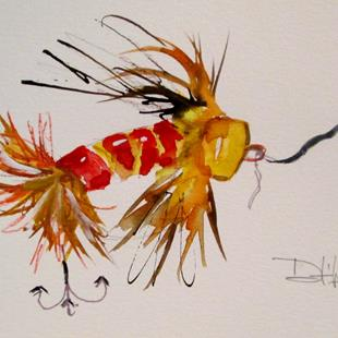 Art: Fishing Lure No.17 by Artist Delilah Smith