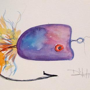 Art: Fishing Lure No. 18 by Artist Delilah Smith