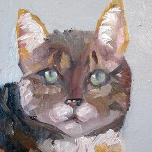 Art: Cat No. 2 by Artist Delilah Smith
