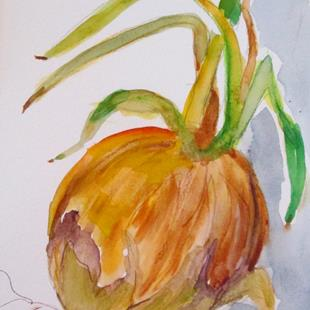 Art: Onions No. 4 by Artist Delilah Smith