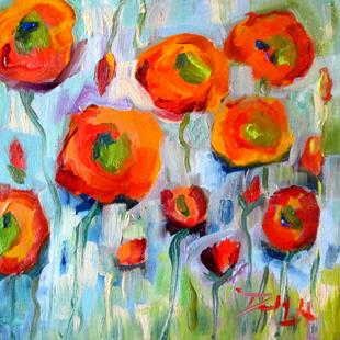 Art: Wild Flowers by Artist Delilah Smith