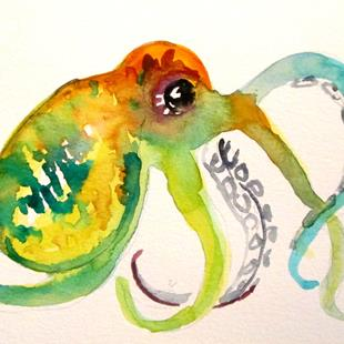 Art: Octopus No. 8 by Artist Delilah Smith