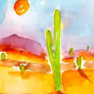 Art: Arizona Sun by Artist Delilah Smith