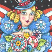 Art: INDEPENDENCE DAY FAIRY by Susan Brack