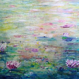 Art: CONVERSATION with MONET by Artist LUIZA VIZOLI