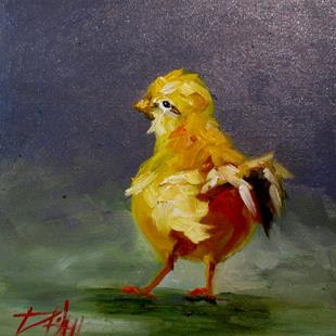 Art: Spring Chick No. 2 by Artist Delilah Smith