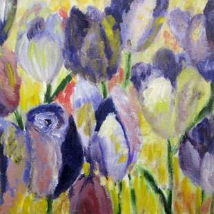 Art: Crocus by Artist Delilah Smith