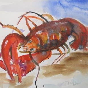 Art: Lobster No. 12 by Artist Delilah Smith