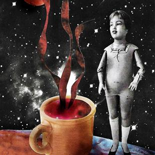 Art: Nothing a Cup of Celestial Joe Can't Fix by Artist Vicky Helms