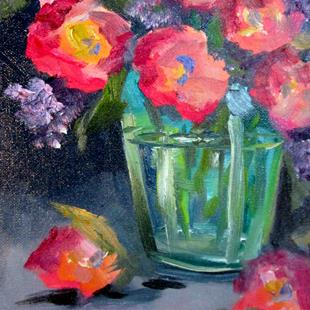 Art: New Flowers by Artist Delilah Smith