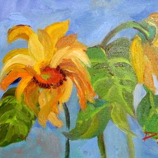 Art: Sunflowers No. 8 by Artist Delilah Smith