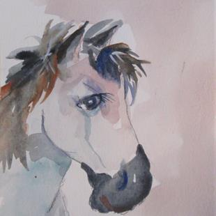 Art: Horse No. 9 by Artist Delilah Smith