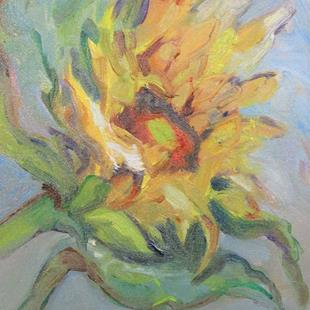 Art: Sunflower No. 10 by Artist Delilah Smith