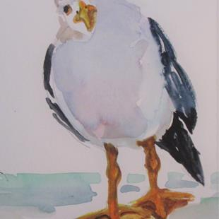 Art: Seagull No. 8 by Artist Delilah Smith
