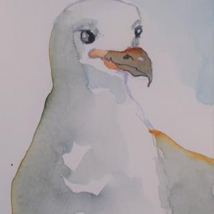 Art: Seagull No. 9 by Artist Delilah Smith