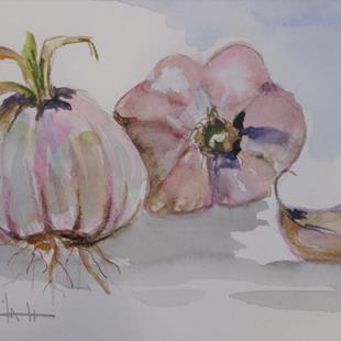 Art: Garlic by Artist Delilah Smith
