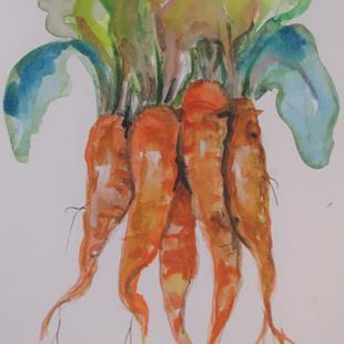 Art: Carrots by Artist Delilah Smith