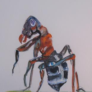 Art: Ant No. 4 by Artist Delilah Smith