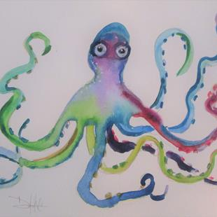 Art: The Kraken by Artist Delilah Smith