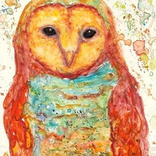 Art: Owl - sold by Artist Ulrike 'Ricky' Martin