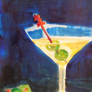Art: Martini No. 4 by Artist Delilah Smith