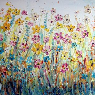 Art: WILDFLOWER MEADOWS by Artist LUIZA VIZOLI