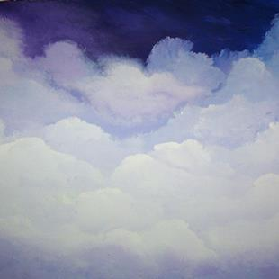Art: Billowing Clouds - sold by Artist Gallery Elite