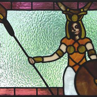 Art: Lady of  Beasts: Rip of JC Borerro's Diana the Huntress by Artist Dawn Lee Thompson