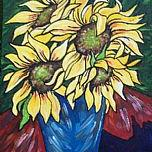 Art: Sunflower Serenity by Artist Melanie Douthit