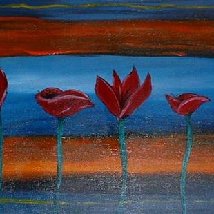 Art: Poppies, 7 by Artist Kathleen A. Roberson