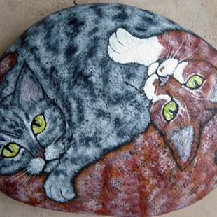 Art: Korpita Kats II by Artist Tracey Allyn Greene