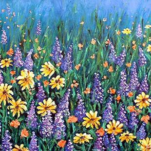 Art: Whispering Wildflowers by Artist Lindi Levison