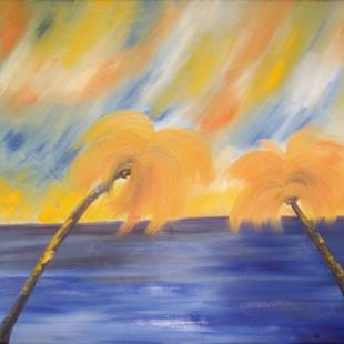 Art: TEQUILA SUNRISE by Artist Christa Jule Art