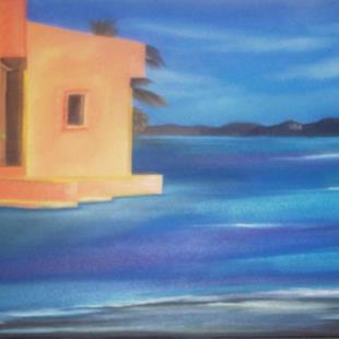 Art: OCEAN HACIENDA by Artist Christa Jule Art